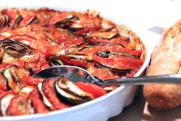 CosyDay: Ratatouille mit Mozzarella